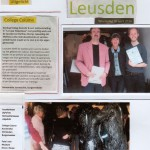 Mathieu Klomp in Museum M.A.C. House Leusden college colum door Burgemeester april 2016