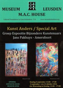 Poster Jans Pakhuys Groep expo aug 16