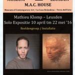 Poster Mathieu Solo maart 2016